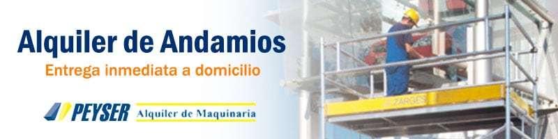 Alquiler andamios en Madrid
